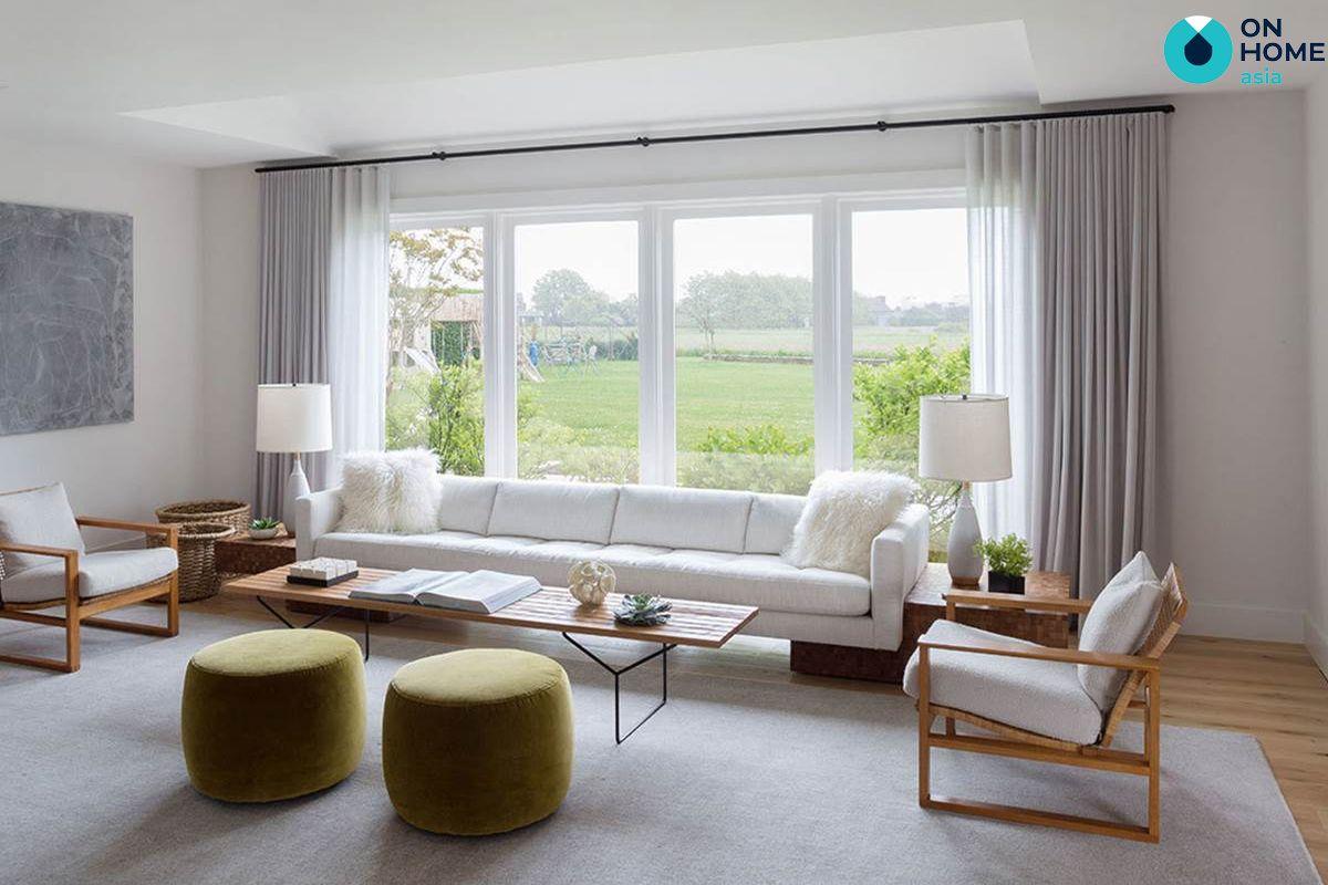 Ánh sáng nội thất tối giản