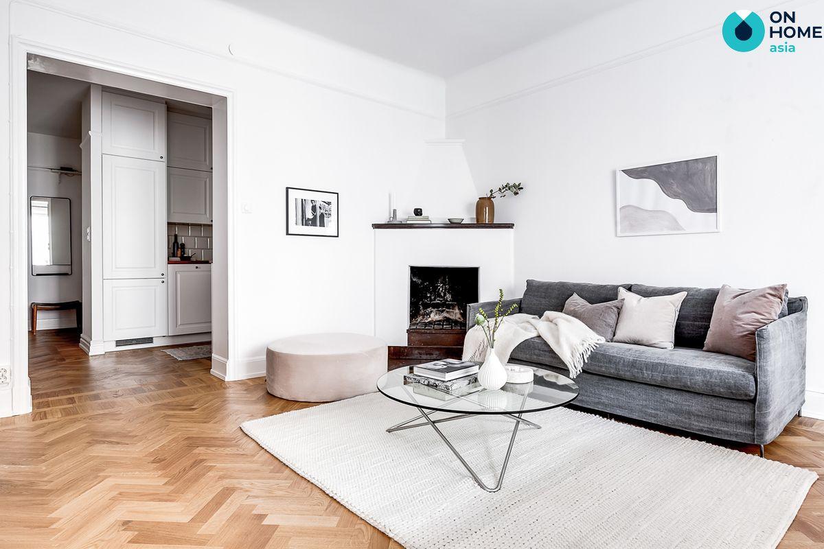 Phù hợp với vật liệu trang trí nội thất tối giản