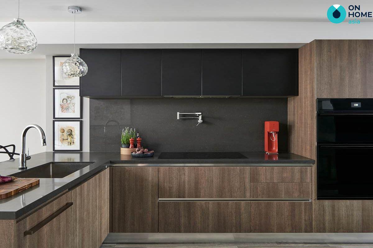 Nhà bếp phong cách tối giản