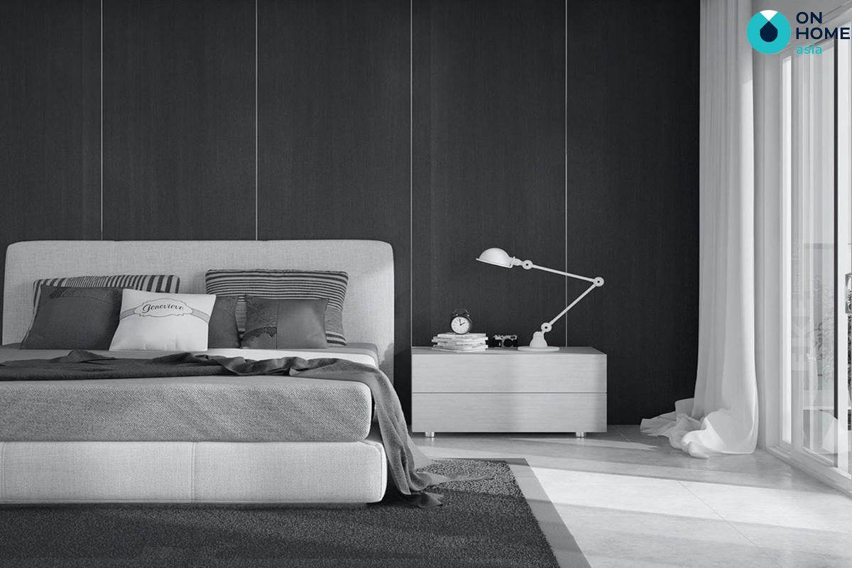 Giường tối giản