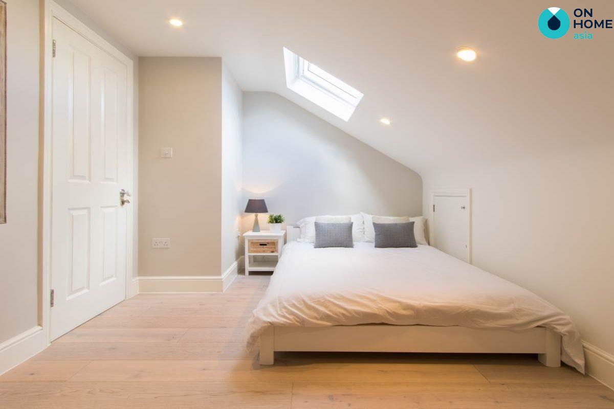 Phòng ngủ để đồ nội thất đơn giản