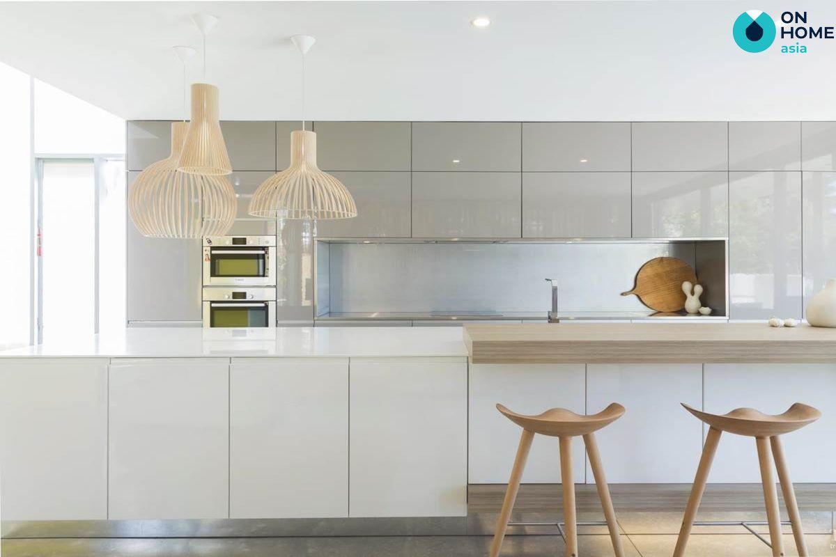 Nhà bếp tối giản
