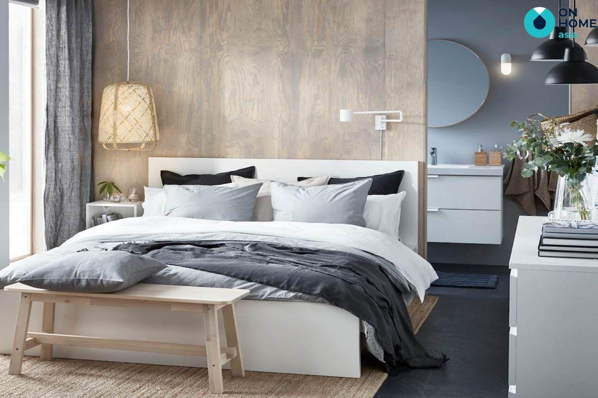 Thiết kế nội thất phòng ngủ tối giản