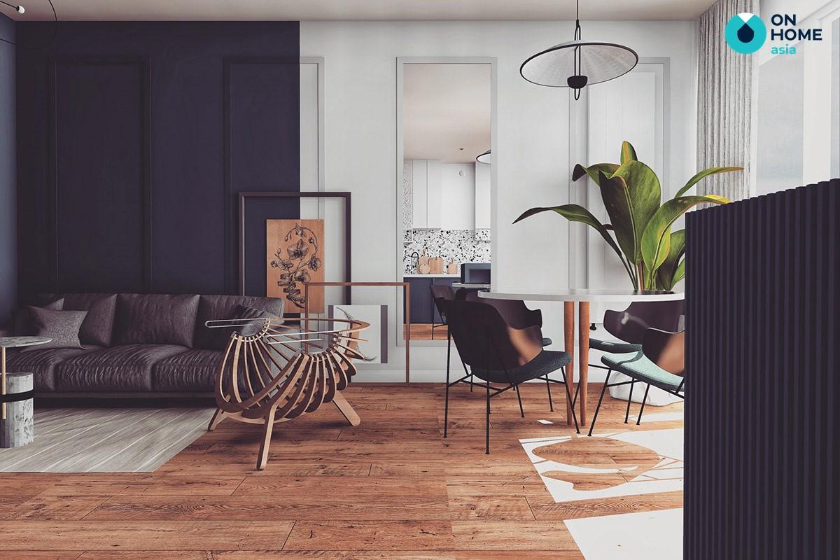 Tỷ lệ không gian nội thất phòng khách