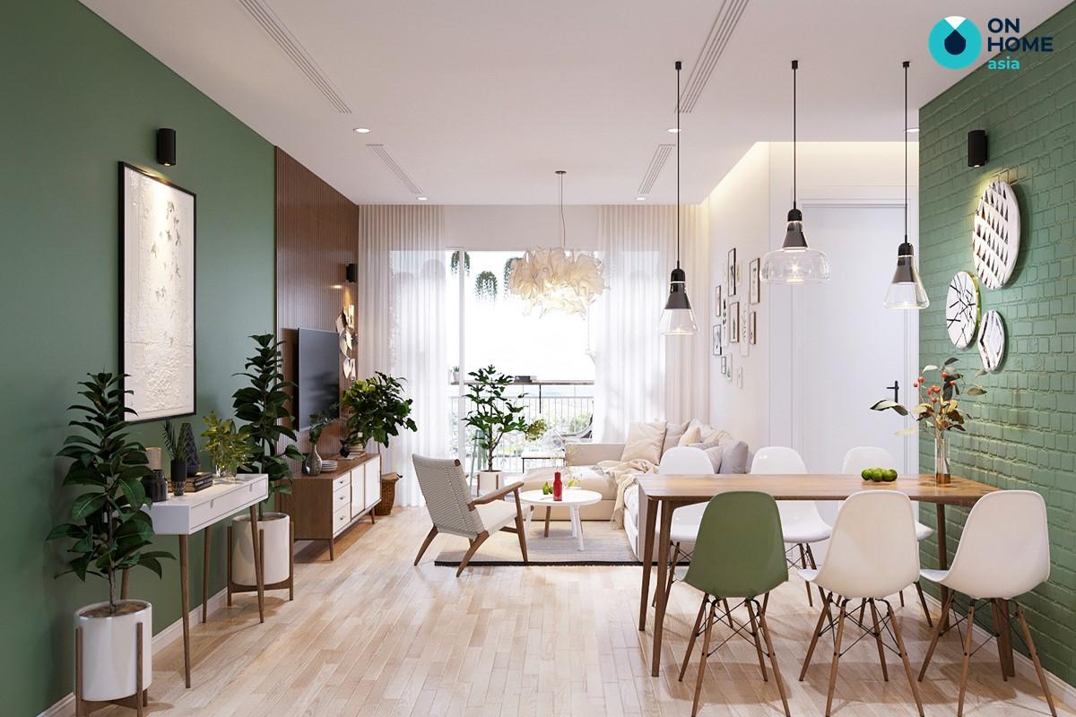 Tỷ lệ không gian nội thất Bắc Âu