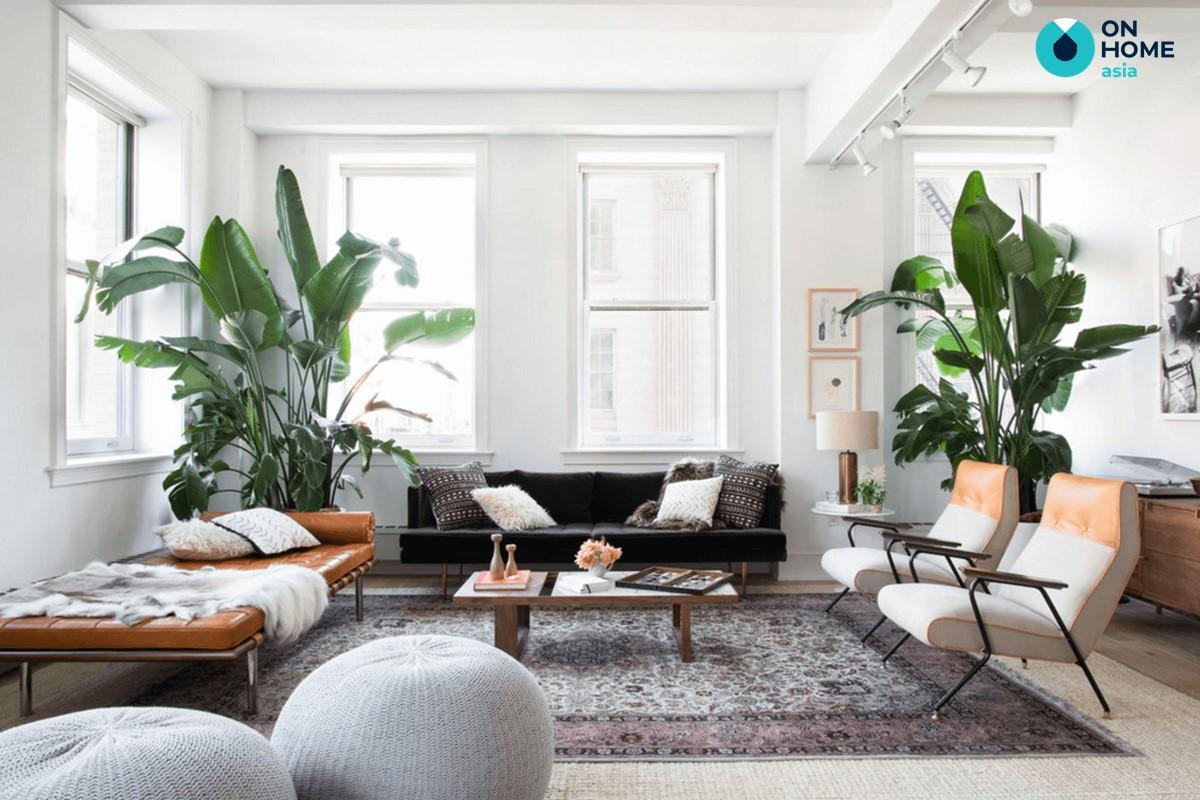 Màu sơn phù hợp với không gian phòng khách