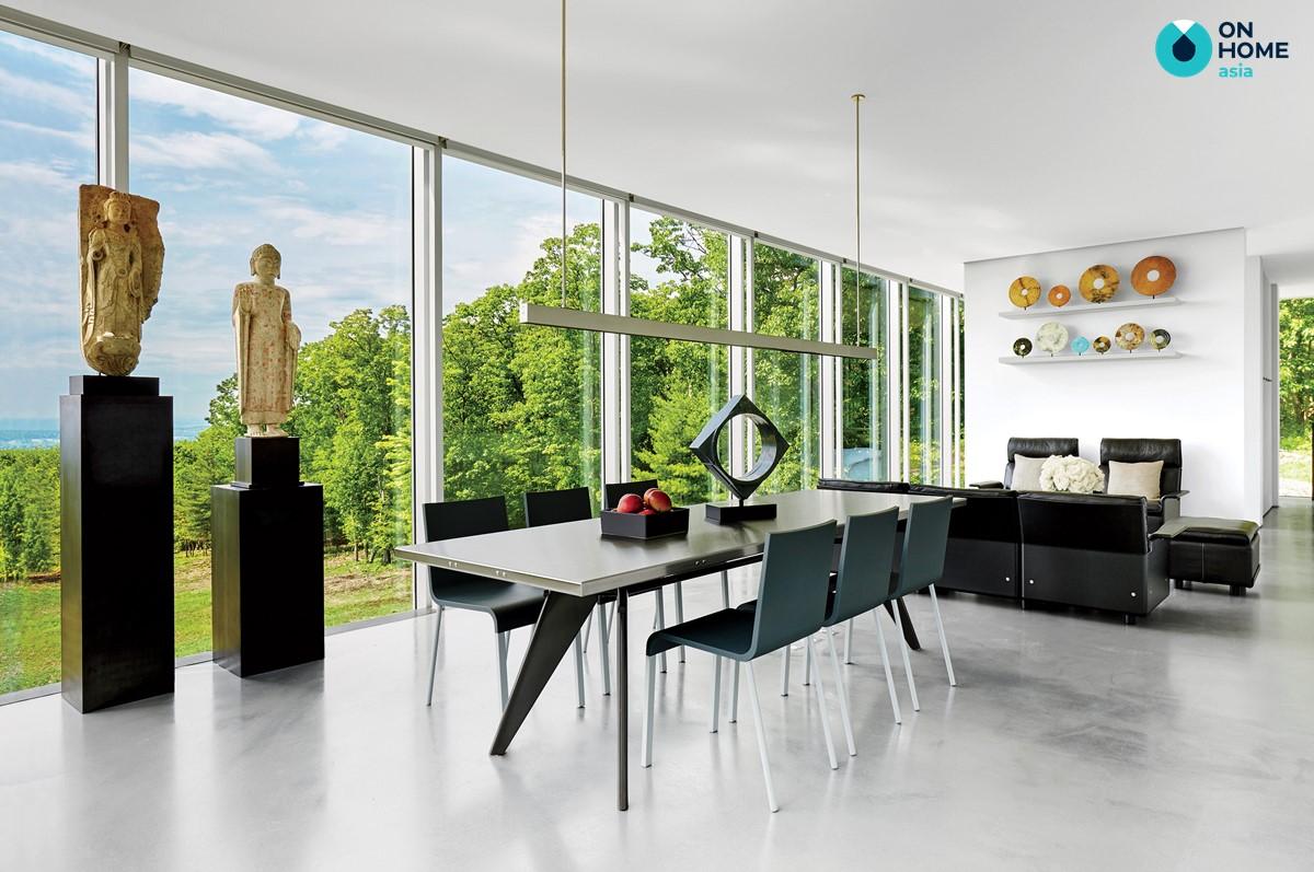 Sự đối xứng trong thiết kế nội thất hiện đại