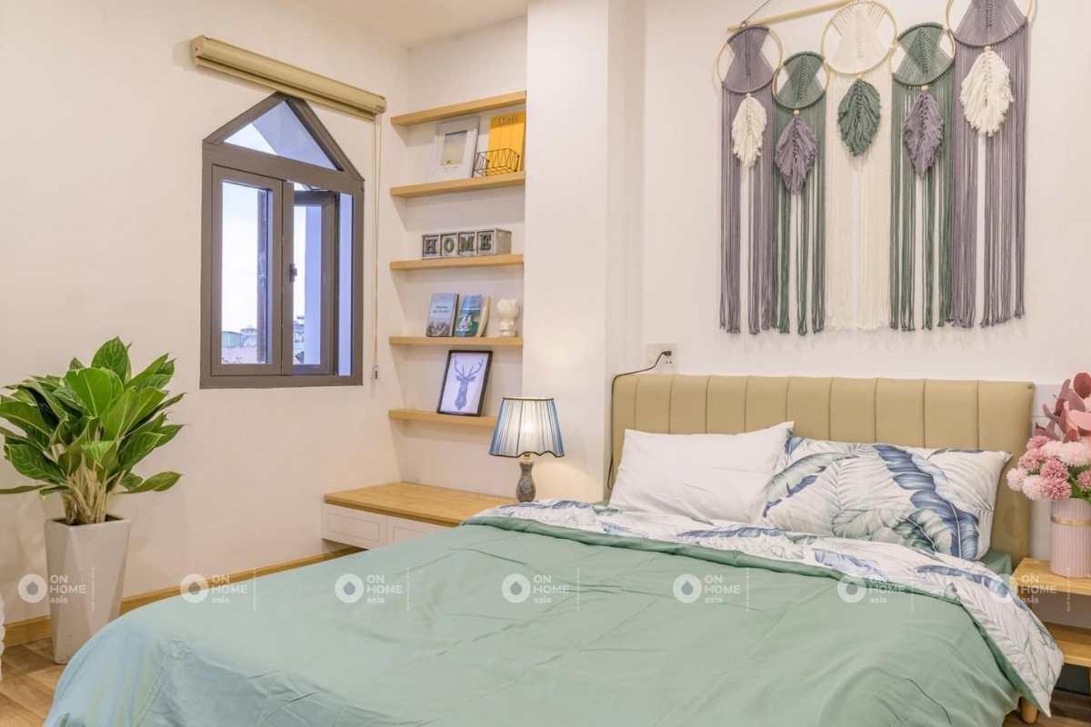 Phòng ngủ master nhà 4 tầng
