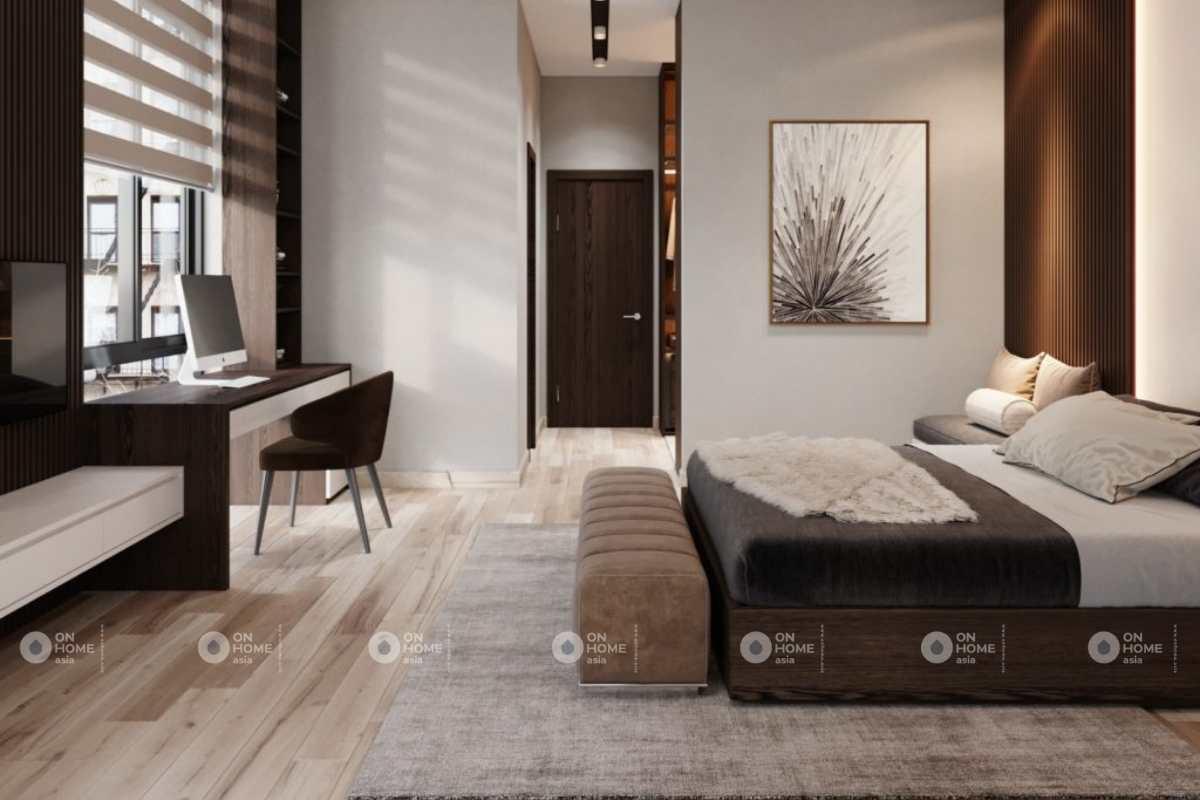 Không gian phòng ngủ đẹp và đầy đủ tiện nghi