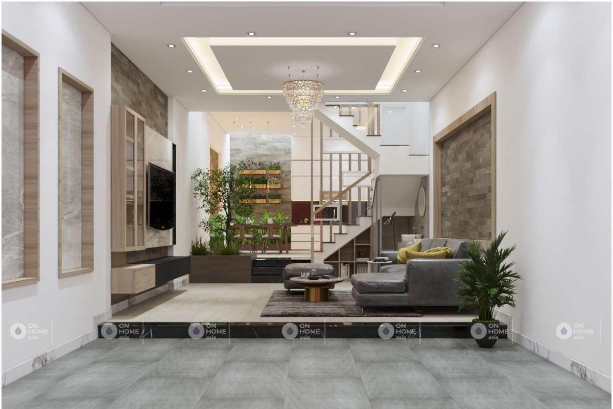 Thiết kế nội thất nhà 4 tầng đẹp