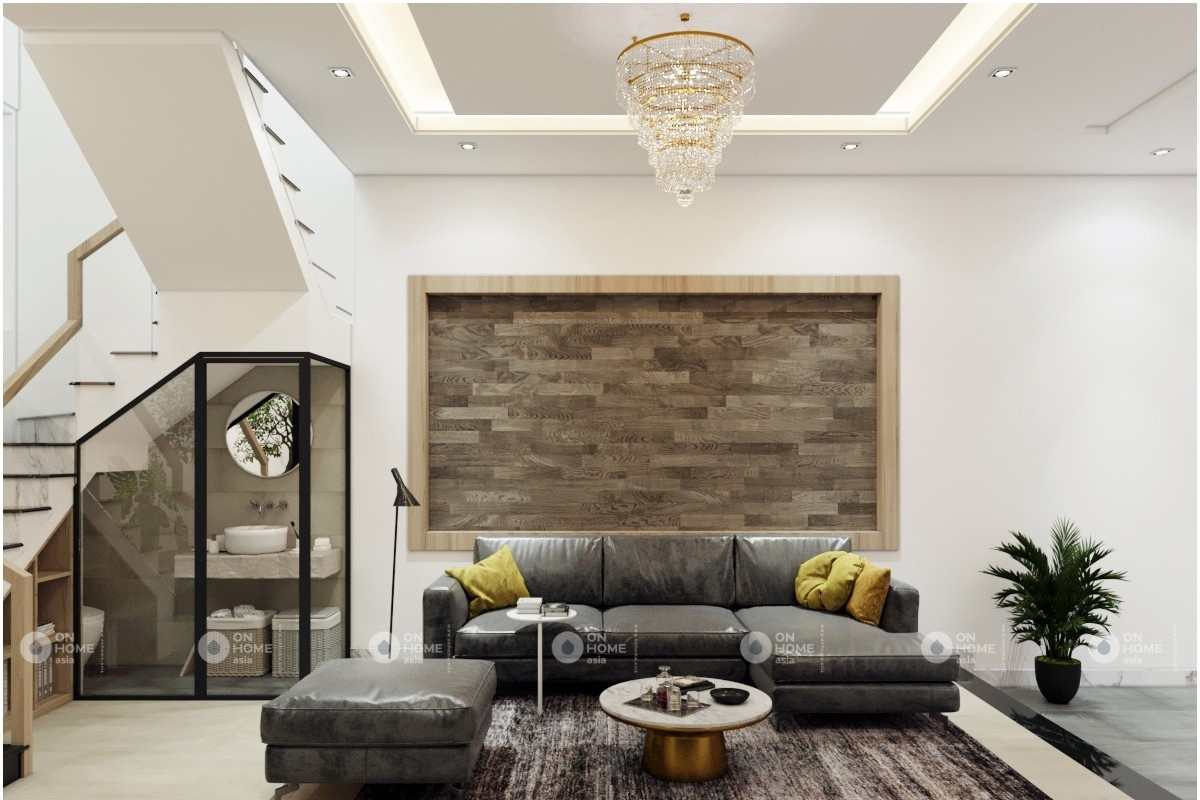 Sofa phòng khách nhà phố
