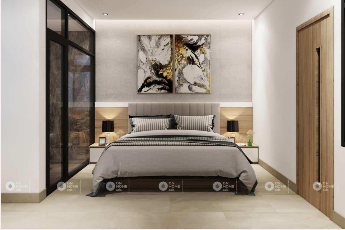 Nội thất phòng ngủ nhà 4 tầng đẹp