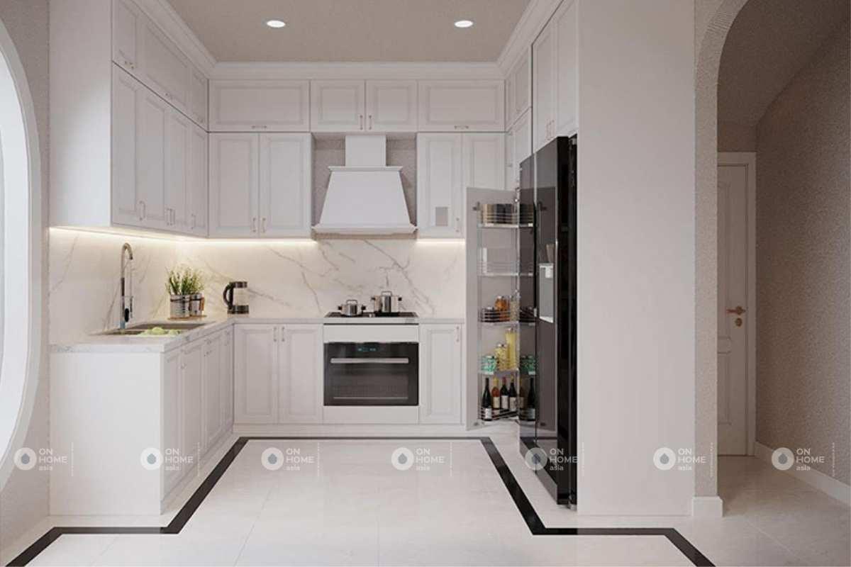 Nội thất phòng bếp nhà phố đẹp