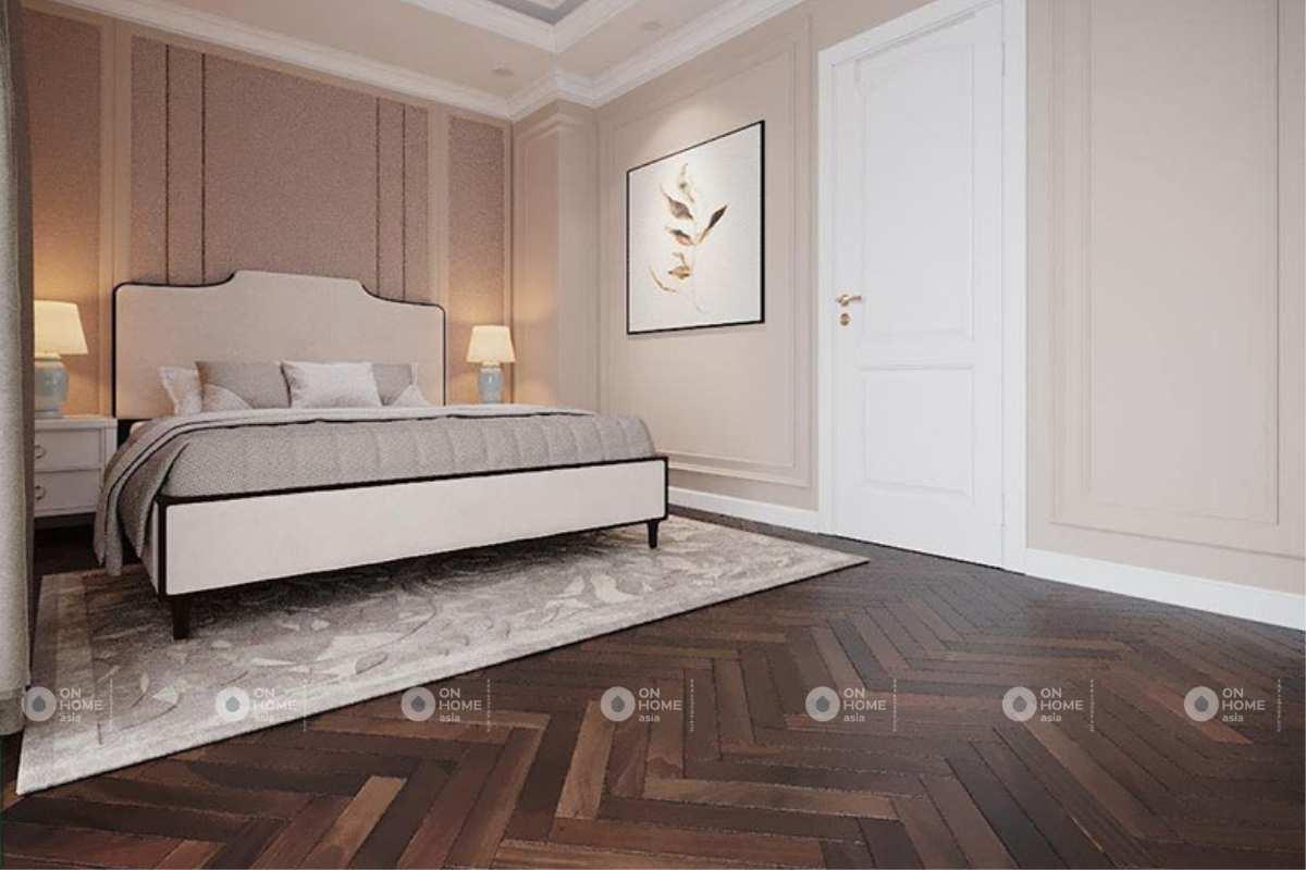 Phòng ngủ master nhà phố đẹp