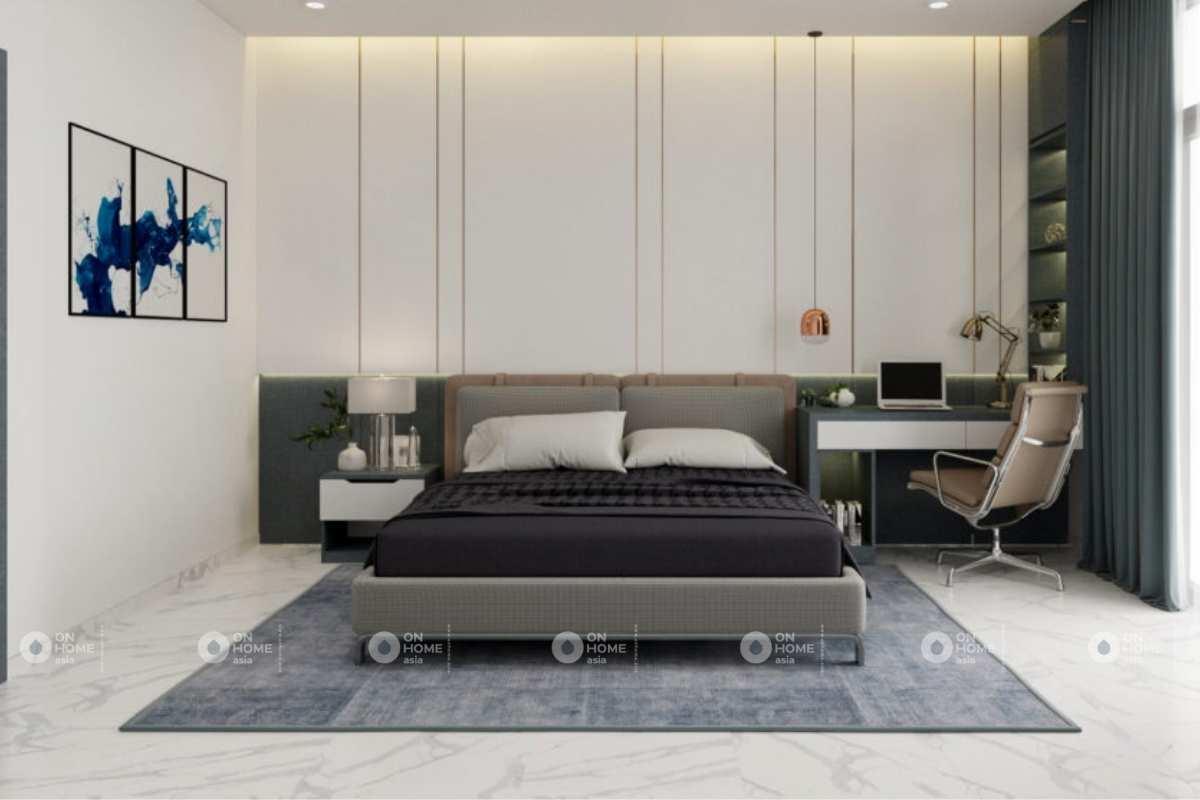 Thiết kế phòng ngủ chính trang nhã
