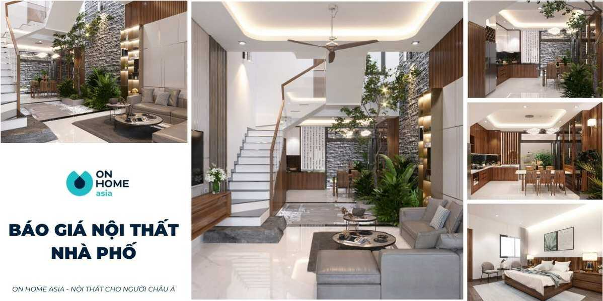 Báo giá thiết kế nội thất nhà phố trọn gói, chủ nhà cần phải biết