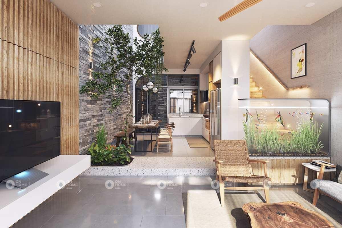 Thiết kế nhà phố Scandinavian mộc mạc và trang nhã
