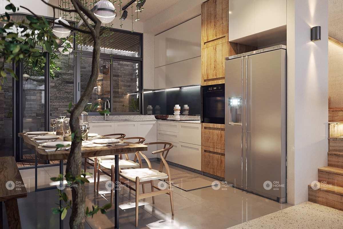 Nhà bếp nhỏ và đẹp