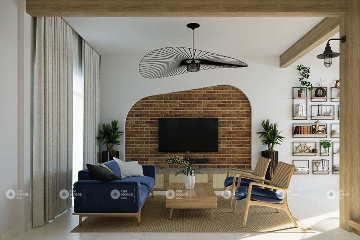 Thiết kế nội thất nhà phố Scandinavian và phong cách Nhiệt đới