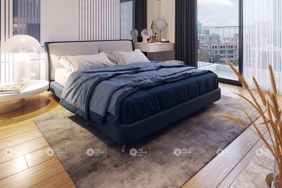 Phòng ngủ nhỏ được bố trí hài hòa bố trí