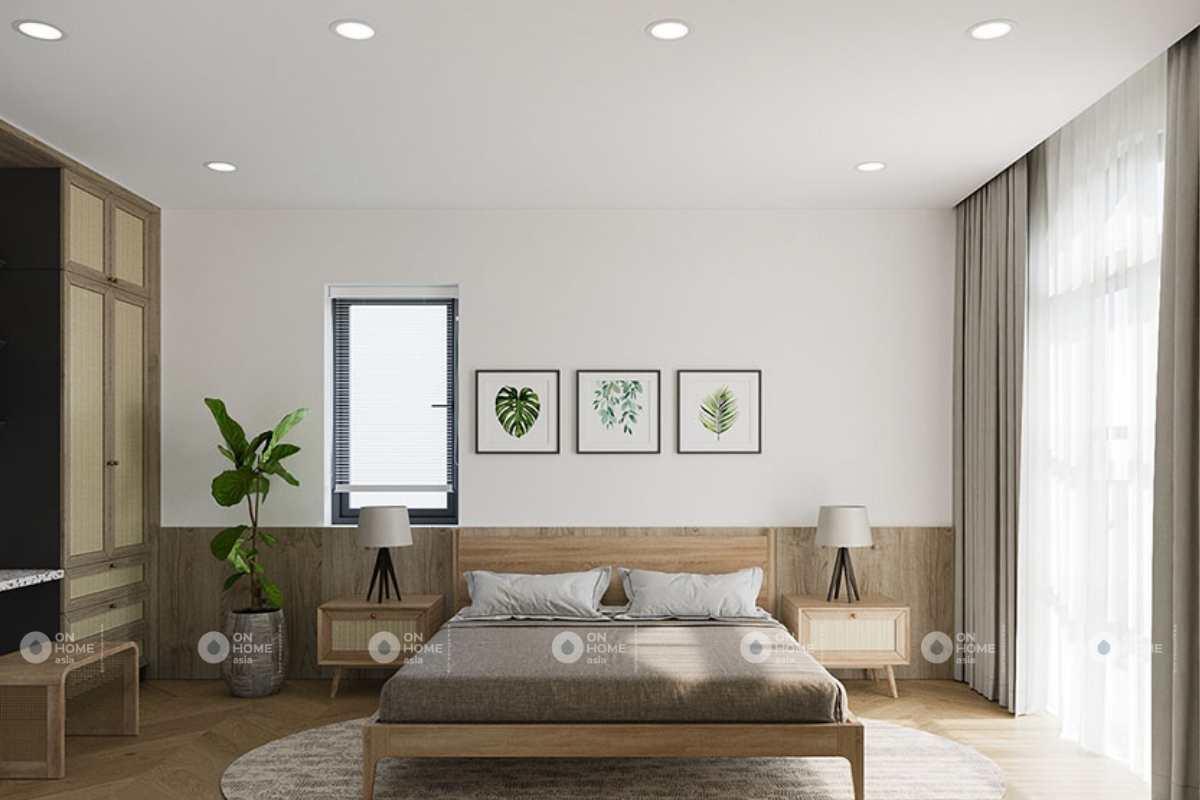 Nội thất phòng ngủ hài hòa