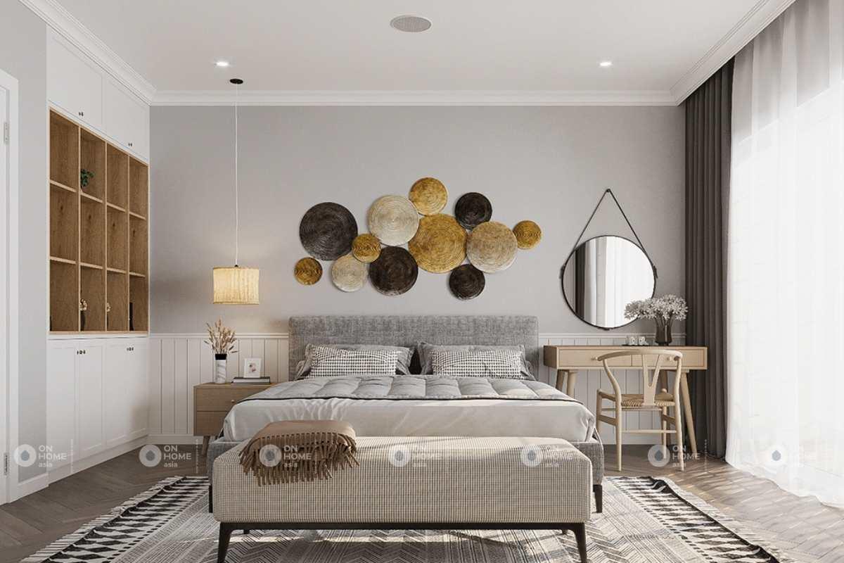 Thiết kế phòng ngủ chính ấn tượng