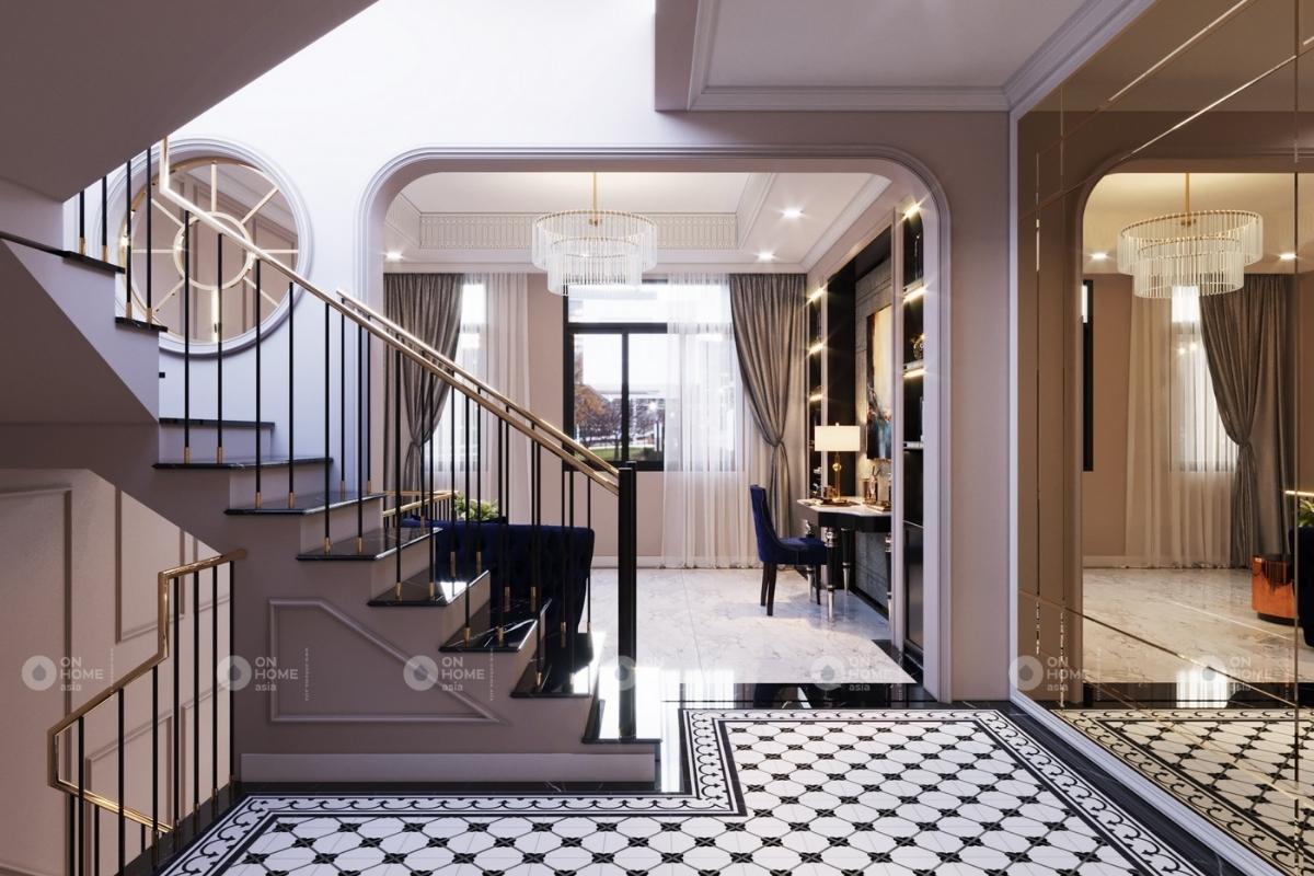 Cầu thang hiện đại và đẹp