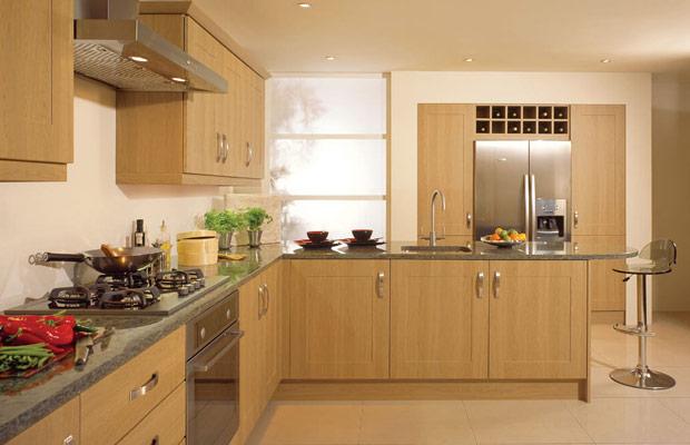 Ván ép gỗ dán dùng làm tủ bếp