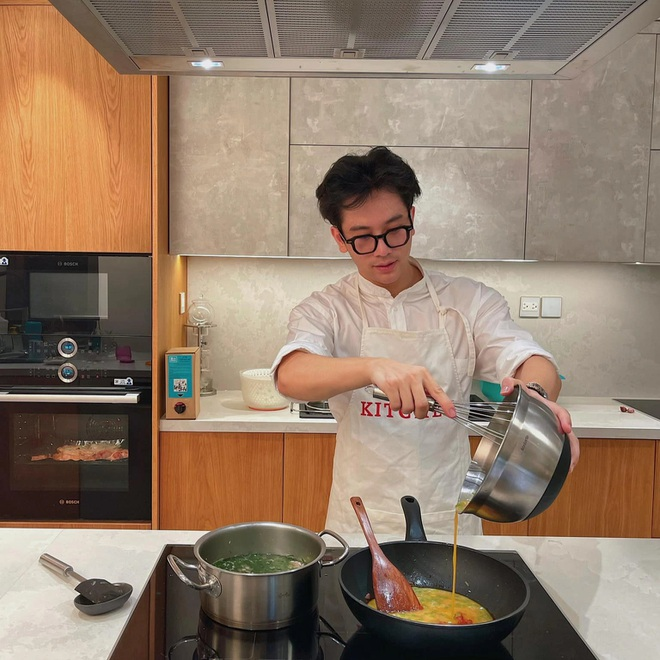 [Review] Thiết kế nội thất bếp vạn người mê của Vlogger Dino Vũ
