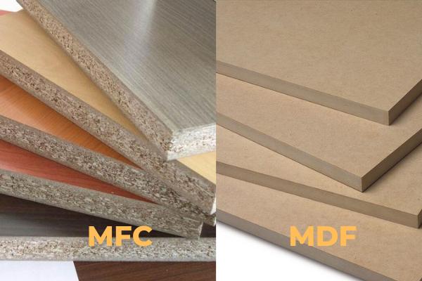Ván MFC và MDF cái nào tốt hơn? Nên lựa chọn ván nào?