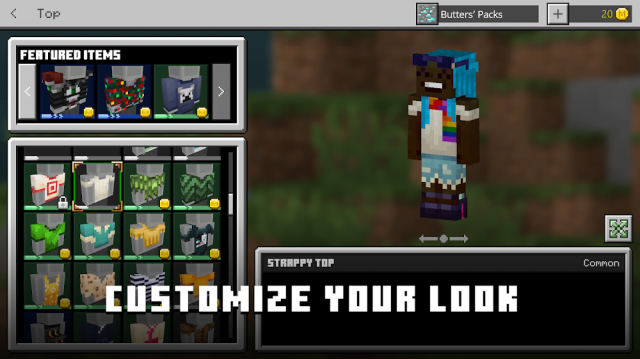 giftcode Minecraft - Pocket Edition
