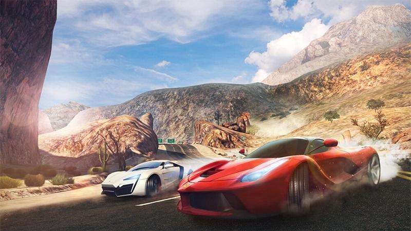 Game đua ô tô Asphalt 8