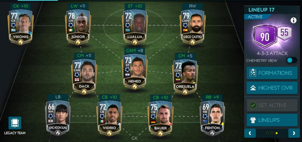 Hướng dẫn giải đấu cuối tuần FIFA Mobile 20