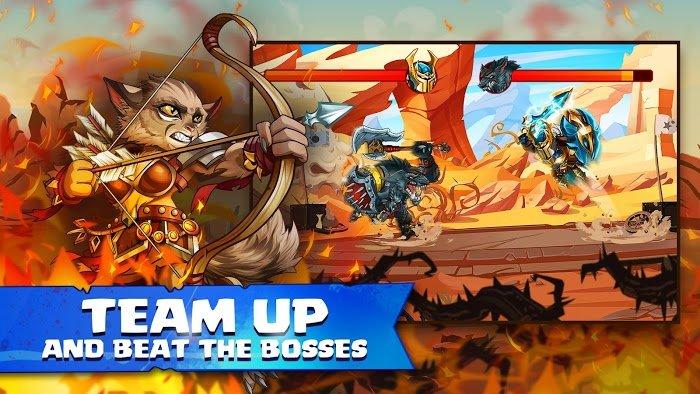 Tiny Gladiators 2 - Heroes Duels (MOD, Dumb Bot)