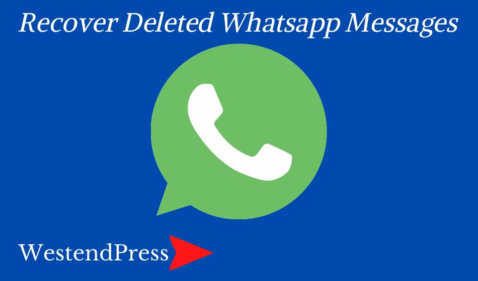Khôi phục các tin nhắn WhatsApp đã xóa