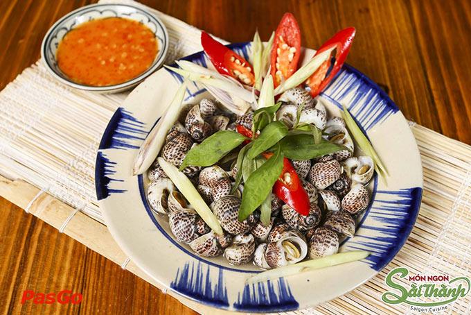 Điệp khúc hương vị ốc Sài Gòn 2