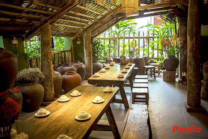 Nhà hàng Tân Lương Sơn thủy mặc phong cách 5