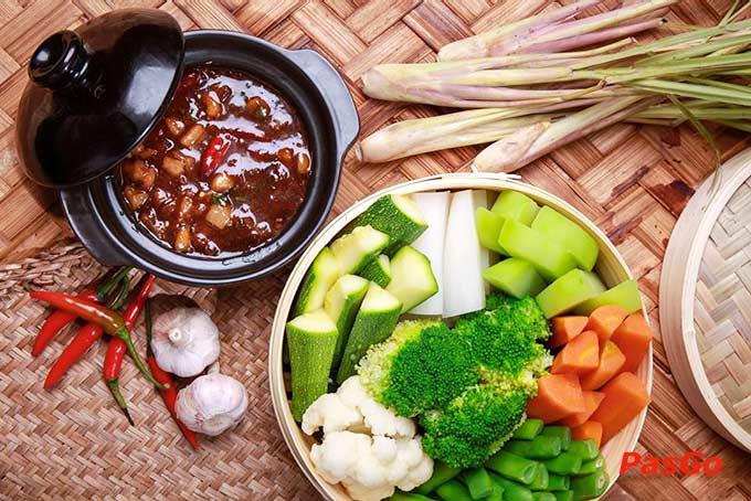 Nhà hàng Tân Lương Sơn phong cách thủy chung 1