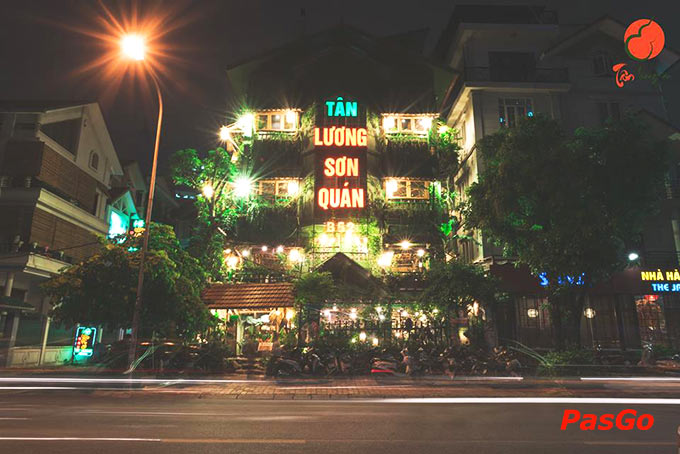 Nhà hàng Tân Lương Sơn phong thủy thời 8