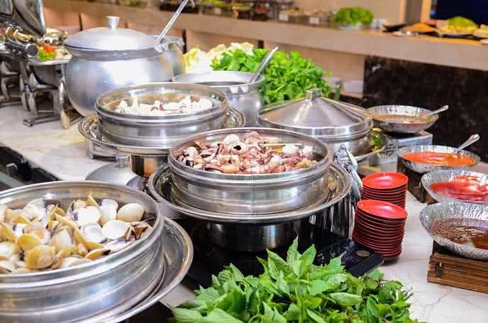 Đánh giá ảnh nhà hàng buffet hoàng gia 5