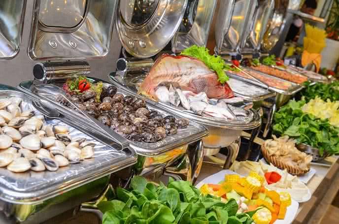Đánh giá ảnh nhà hàng buffet hoàng gia 8