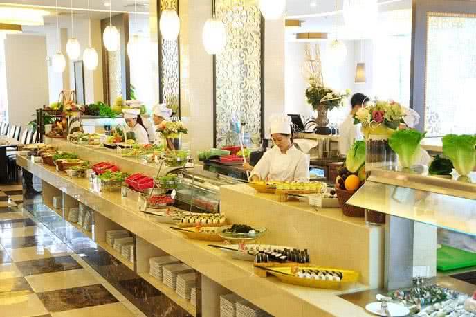 Đánh giá ảnh nhà hàng buffet hoàng gia 1