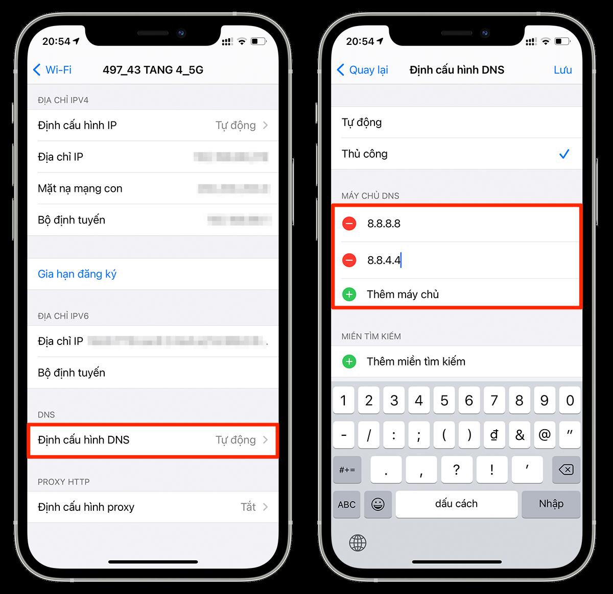 Mẹo sửa lỗi Wi-Fi chậm trên iPhone 8