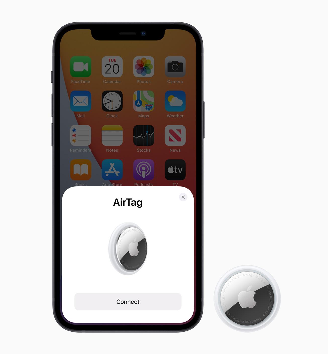 Cách thêm AirTag vào iPhone 6