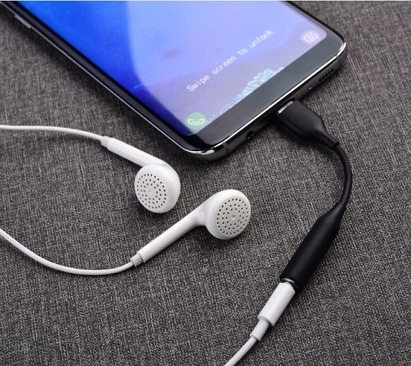 Điện thoại Samsung không chấp nhận tai nghe loại C