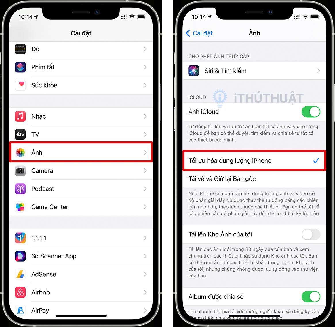 Toàn bộ bộ cách giải phóng dung lượng trên iPhone, iPad 9