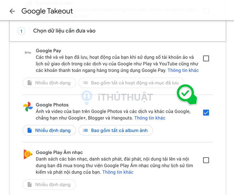 Cách xuất ảnh từ Google Photos sang iCloud Photos 7