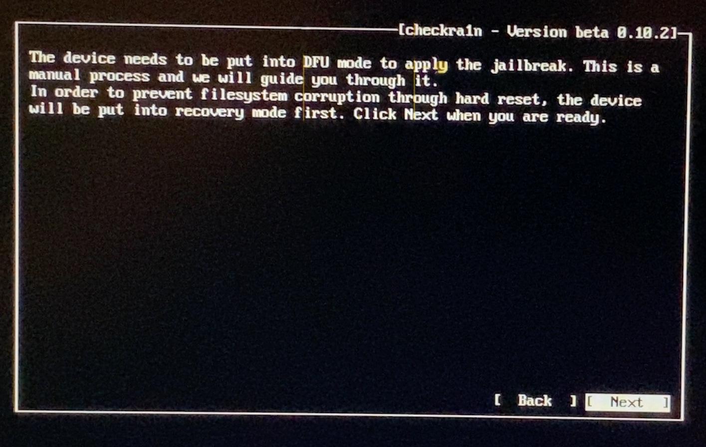 Cách bẻ Key với checkra1n trên máy tính Windows với bootra1n 14