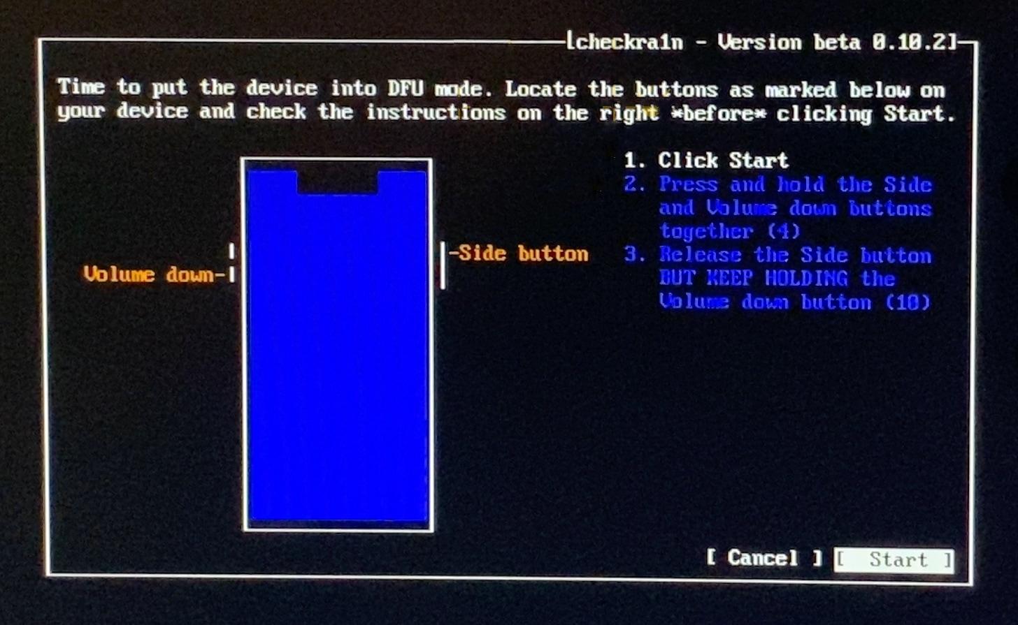 Cách bẻ Key với checkra1n trên máy tính Windows với bootra1n 15