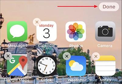 Cách sắp xếp ứng dụng trên iPhone, iPad 7